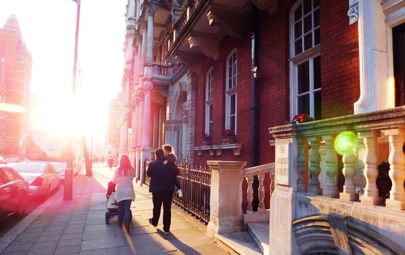 Vivre à Londres : les Français choisissent South Kensington